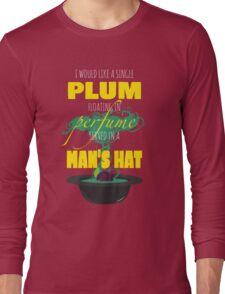 A Single Plum Long Sleeve T-Shirt