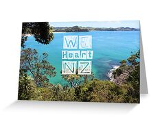 WeHeartNZ - Whale Bay Print Greeting Card