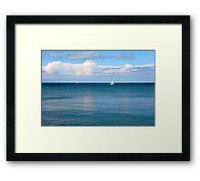 summertime blues.. Framed Print