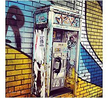 Payphone - Call Me Maybe Photographic Print