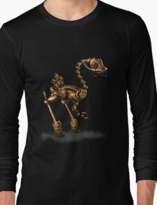 Steam Punk Robot Birdie Long Sleeve T-Shirt