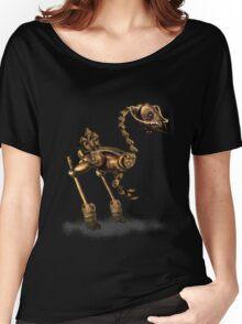 Steam Punk Robot Birdie Women's Relaxed Fit T-Shirt