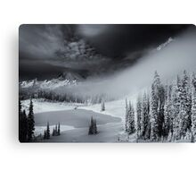 Winter Storm Clearing Canvas Print
