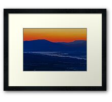 The Breaking of the Dawn Framed Print