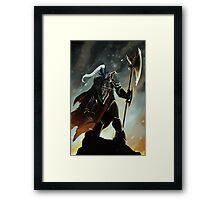 The Tyrant Framed Print