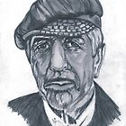 Leonard Cohen by Bobby Dar