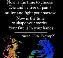 Auron Quote by Chubbyflamingo