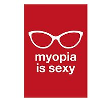 myopia is sexy Photographic Print