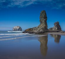 Bandon Oregon Sea Stacks by Carrie Cole