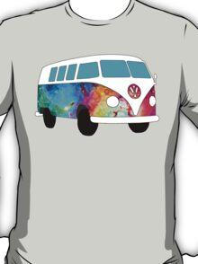 VW Rainbow Hippie Bus! T-Shirt