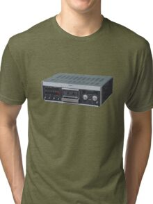 home taping is ruining the music business Tri-blend T-Shirt