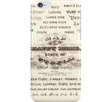 Map of The Happy Home State of Utopia iPhone Case/Skin