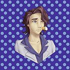 Professor Sycamore-Amie! [Blue Polka Dots] [Cards/Prints] by Kashidoodles