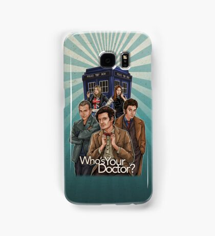 Who's Your Doctor? Samsung Galaxy Case/Skin