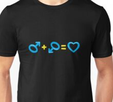 Cartoon gender symbols Unisex T-Shirt
