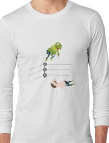 Kermit The Frogsplash Long Sleeve T-Shirt