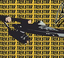 Star Trek: Original Series Enterprise Print by Madwatcher