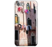 Sun And Shade Laundry iPhone Case/Skin