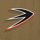 Anaheim Ducks Minimalist Print by SomebodyApparel