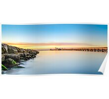 Sunset at Kurnell Poster