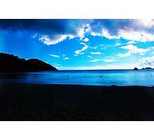 Nightfall at Emerald Beach  Photographic Print
