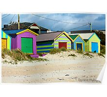 Beach Boxes Poster