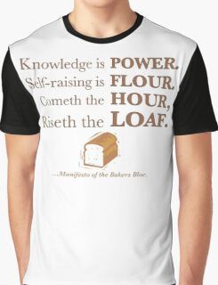 Knowledge is Power Graphic T-Shirt