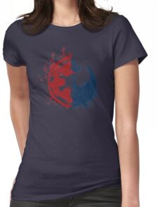 Choose your path Womens Fitted T-Shirt