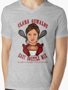 Clara Oswald's Easy Souffle Mix Mens V-Neck T-Shirt