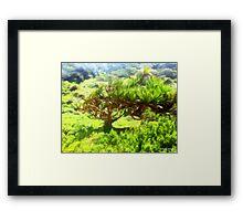 Dune Forest  Framed Print