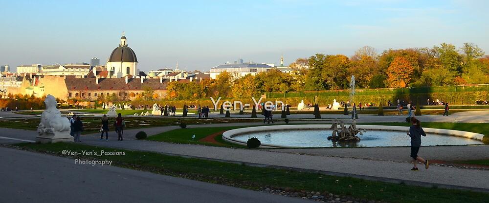 Beldevere Park Vienna Austria by Yen-Yen