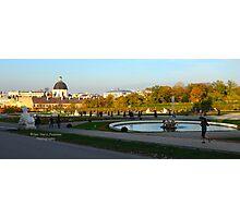Beldevere Park Vienna Austria Photographic Print