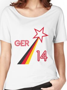 GERMANY STAR Women's Relaxed Fit T-Shirt