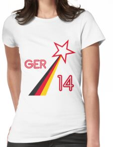 GERMANY STAR Womens Fitted T-Shirt