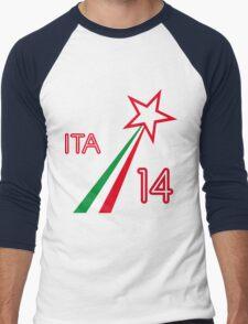 ITALY STAR Men's Baseball ¾ T-Shirt