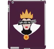 God save the Evil Queen iPad Case/Skin