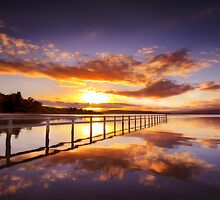 Mortimer Bay, Tasmania, Australia by Aaron  Bishop