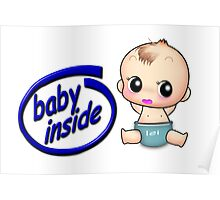 Baby inside Poster