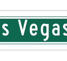 "Las Vegas Blvd. ""The Strip"", Street Sign, Las Vegas, Nevada Sticker"