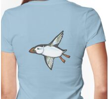 Night Flight Womens Fitted T-Shirt