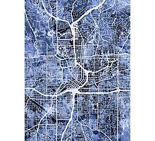 Atlanta Georgia City Map Photographic Print