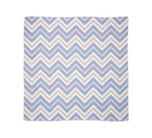 Chevron Pattern | Zig Zags | Rose Quartz and Serenity | Pantone Colors of the Year 2016 Scarf