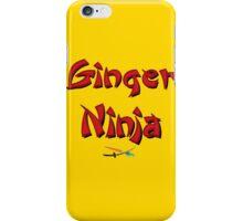 Ginger Ninja! iPhone Case/Skin
