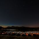 Night at Lake Derwent, Keswick 2 by George Crawford