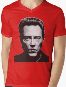 Walken Mens V-Neck T-Shirt