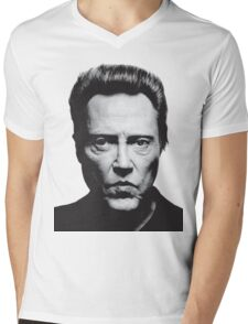 Walken Mens V-Neck T-Shirt