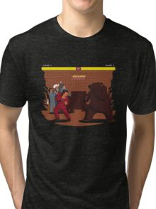 Bear Fight! Tri-blend T-Shirt