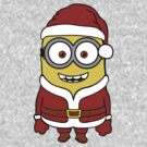 Santa Minion  by lemontee