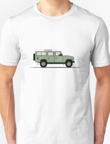 Land Rover Defender 110 Station Wagon Heritage Edition T-Shirt