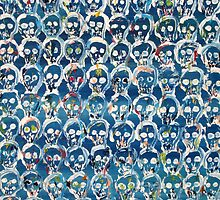 WALL OF SKULLS by lautir